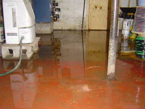 flooded basement is a headache a flooded finished basement makes